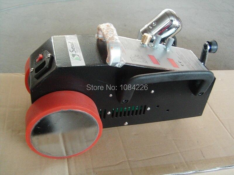 Soudeuse intelligente matérielle de fonte chaude automatique de Machine de soudure à Air chaud pour le PVC