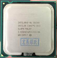 Intel Core 2 Duo Processor E8300 (6M Cache, 2.83 GHz, 1333 MHz FSB) SLAPN LGA 775 D esktop CPU Intel central processing unit(China)