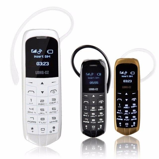 LONG-CZ J8 Magic voice bluetooth dialer cellphone FM radio mini cell bluetooth 3.0 earphone long standby mobile phone P040