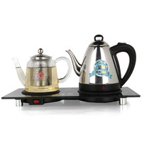 Electric kettle heat preservation and boiling water teapot set