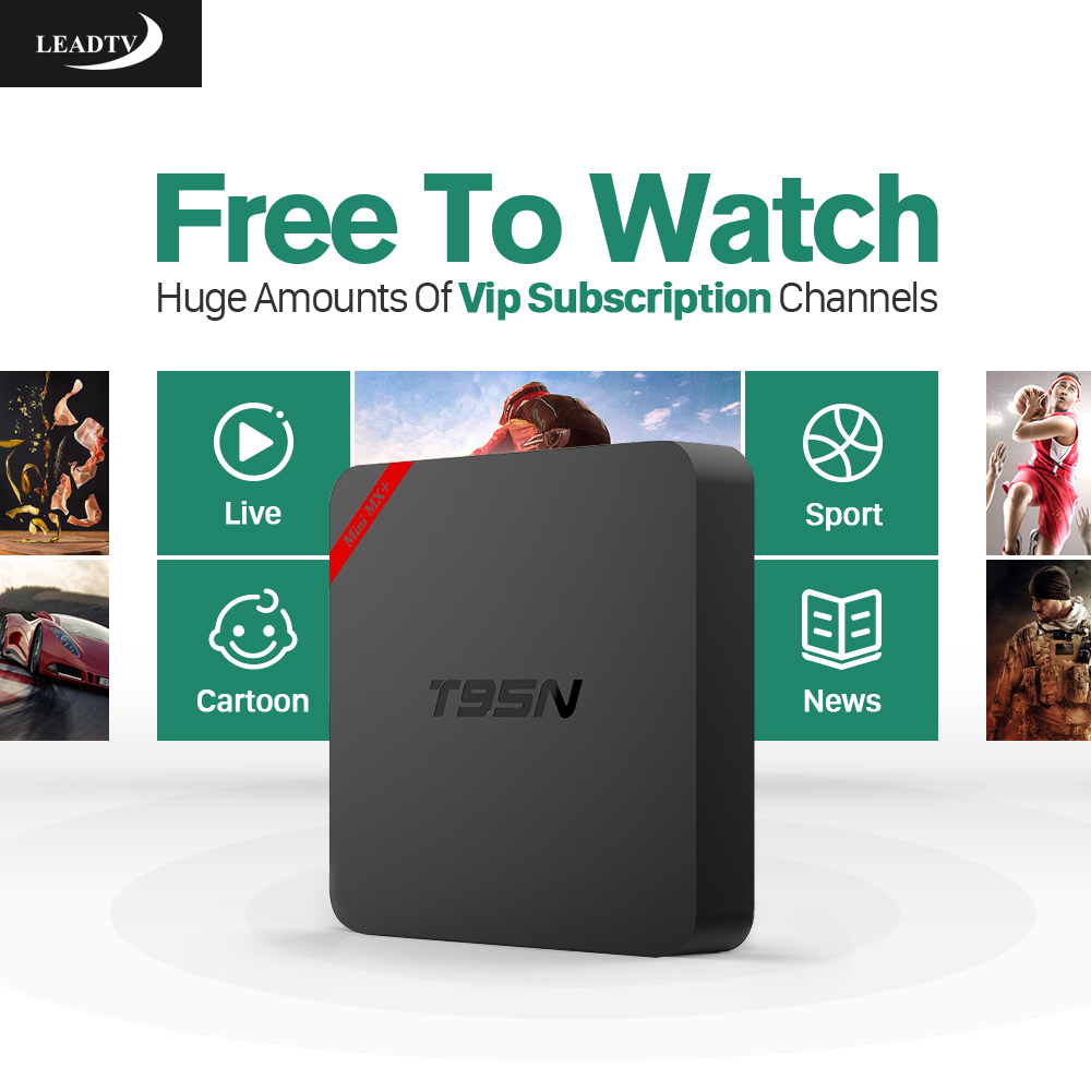 TV Box Android 6.0 Fully Loaded 1GB 8GB Amlogic S905X Quad Core Wifi 2.4GHz HDMI Smart Media Box with Iptv Arabic Europe French amlogic s812 hot sell android tv box quad core wifi smart tv box with xbmc kodi fully loaded m8s plus android 5 1 google box