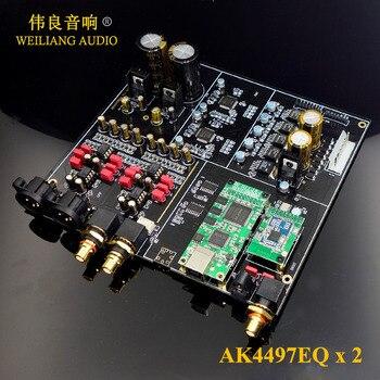 2019 New ! HIFI Dual AK4497 + XMOS XU208 / Amanero USB decoder