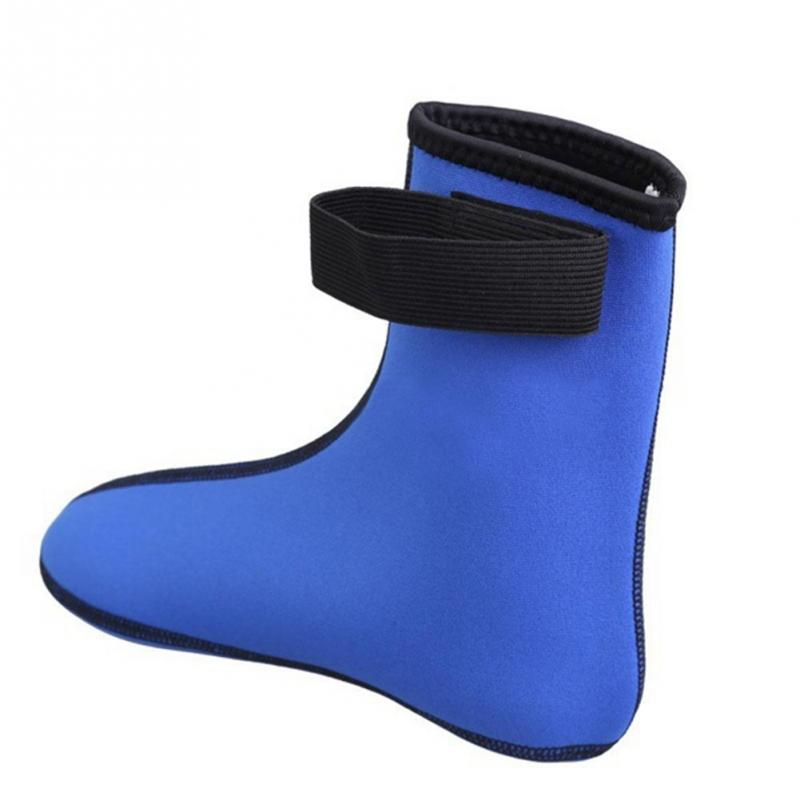 1 Pair 3MM Neoprene Diving Scuba Surfing Swimming Socks Water Sports Snorkeling Boots