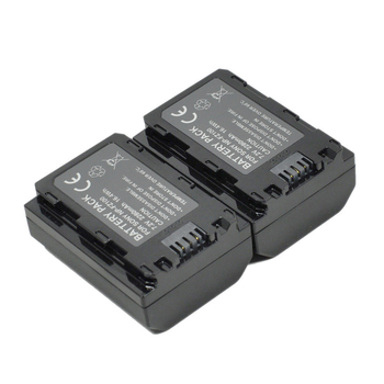 2Pcs/lot NP-FZ100 NPFZ100 FZ100 Battery Rechargeable Batteries for Sony Alpha a9 Alpha a7R III A7R MARK 3 Alpha a7 III A7 MARK 3
