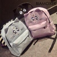 Biamoxer Сэйлор Мун Луна Кот Холст Аниме школьная Студенческая девушка милая сумка пакет Bookbag