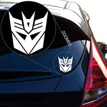 Decepticon From Transformer Decal Sticker for Car Window, Laptop and More  Stickers Decals