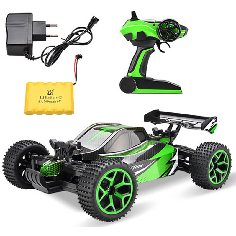 Large 1:16 4WD RC Cars Updated Version 2.4G Radio Control RC Cars Models Buggy 2017 High speed Off-Road Trucks Toys for Children 34cm large 1 12 4wd rc cars updated version 2 4ghz radio control rc cars buggy 2018 high speed off road trucks toys for children