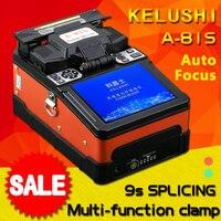 A 81S оранжевый автоматический умный слияние оптических волокон Splicer FTTH волоконно оптический сварочный аппарат
