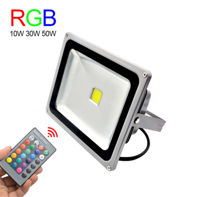 Rgb led flood light 10w 30w 50w foco led exterior spotlight ip65 rgb led flood light 10w 30w 50w foco led exterior spotlight ip65 led outdoor light reflector mozeypictures Gallery