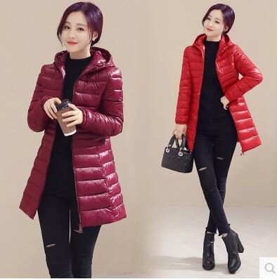 ФОТО Ms. Winter new fashion down jacket warm Slim