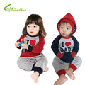 Baby Boy Girl Romper Spring Autumn Long Sleeve Baby Hoodie Jumpsuit Toddlers Fashion One-Piece Clothing 0-2Y Drop Free Shipping