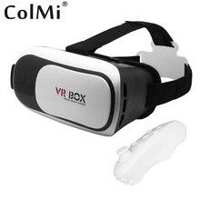 VR SCATOLA 2.0 occhiali di Realta Virtuale 2 + Bluetooth 3.0 Remote Controller 3D Compatibile 3.5-6 Pollice Del Telefono VR auri