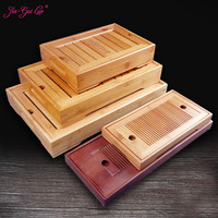 Jia gui luo 1PCS Bamboo Kung Fu Tea Accessories Tray Table