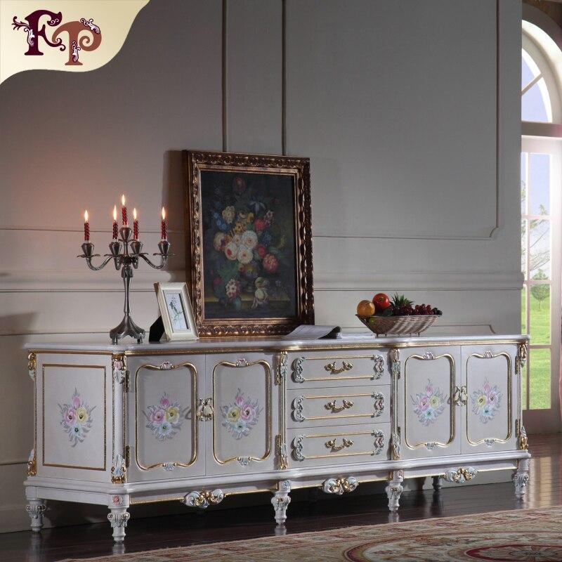 Italienische luxus möbel barock hand geschnitzt blatt vergoldung ...