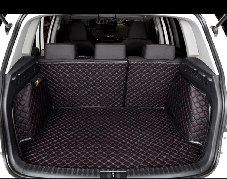 eco-friendly car trunk mat VW Polo PASSAT GOLF SANTANA Touran JETTA Tiguan BORA Sagitar magotan beetle Phaeton Touareg Lavida CC