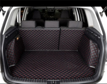 eco-friendly car trunk mat VW Polo PASSAT GOLF SANTANA Touran JETTA Tiguan BORA Sagitar magotan beetle Phaeton Touareg Lavida CC цена