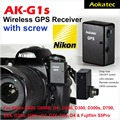 New Version! Aokatec AK-G1s GPS Receiver for Nikon D810 D800 D800E D700 D300 D300S D4 D3 D3X
