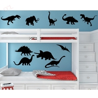 DIY Dinosaurio De Vinilo de Pared Sticker Decal Kids Boy Room Decor Nursery Dormitorio 10 Dinosaurios Envío gratis