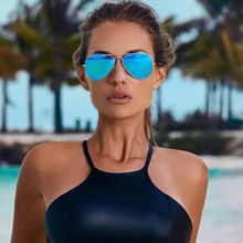 FREE SHIPPING Mirror aviation Sunglasses JKP929