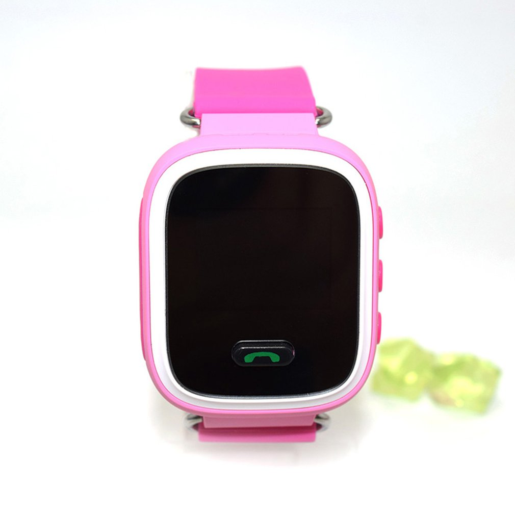 Q90 Smart Child Watch Color Screen GPS Wifi Tracker SOS Call Anti Lost Monitor Phone Call Wristwatch for Children Kids GIFTS