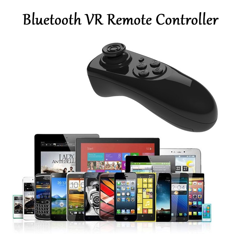Bluetooth Gamepad VR Controller iOS Android phone Joystick Selfie Shutter Remote Control for Phone PC TV box Smart TV 18