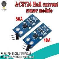ACS724TLLCR 40A 50A Range Hall Current Sensor Module ACS724 Module For Arduino