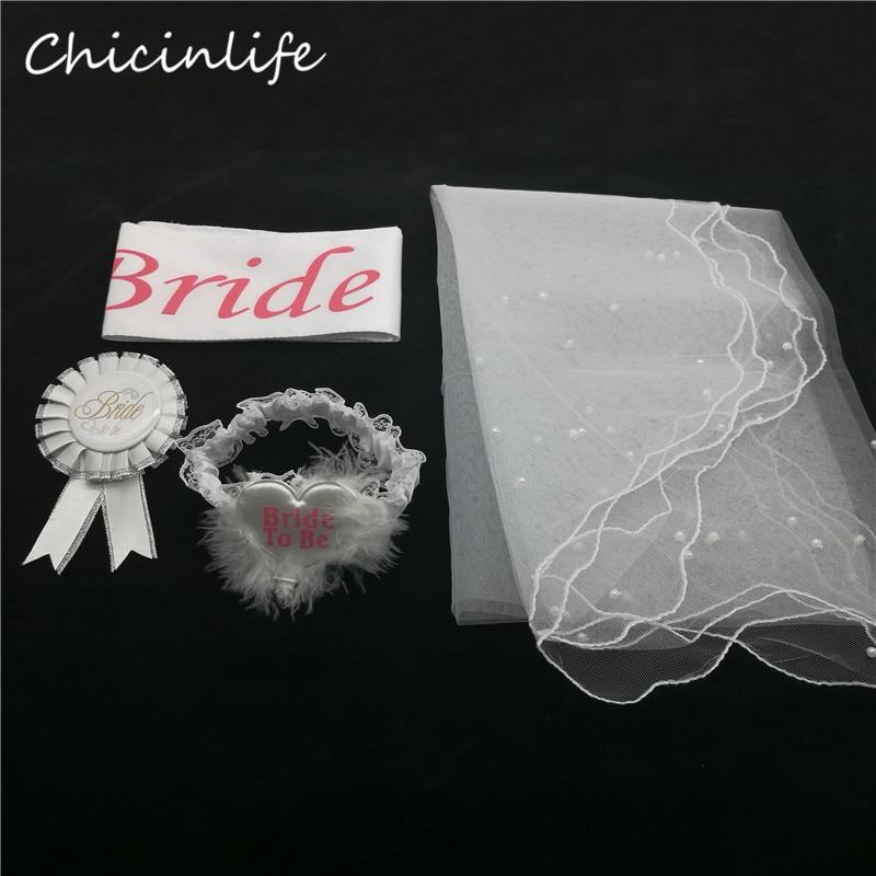 Braut Chicinife 4pcs / lot, zum Schärpe - Partyartikel und Dekoration