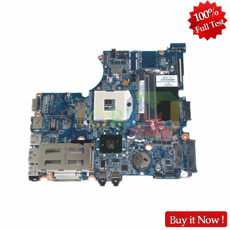 NOKOTION Mainboard for hp probook 4320S laptop motherboard 599520-001 DASX6MB16E0 HM57 DDR3 Tested