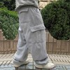 Plus Size Hip Hop Joggers Sweatpants for Men and Women Streetwear Big Pocket Cargo Pants Casual Straight Loose Baggy Trousers 7