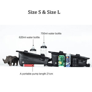 Image 3 - Rhinowalk אופניים מסגרת תיק 2.8L לכביש MTB מתקפל אופני אחסון כלי סלים משולש מסגרת תיק מלא עמיד למים
