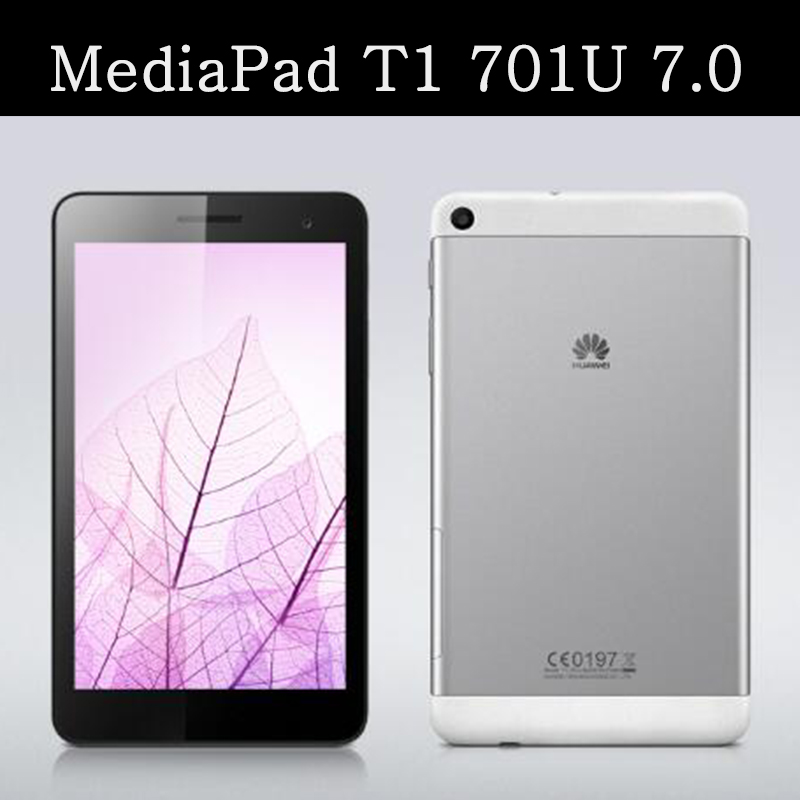 T1 701u flip leather case For Huawei Mediapad T1 7 0 Tablet Cover For huawei mediapad t1 7 0 t1 701w t1 701 smart cases coque in Tablets e Books Case from Computer Office