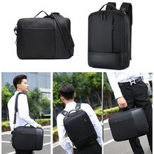 Multifunction 17 inch Laptop Business Men Male Backpack Outdoor Travel Smart USB Man Black Shoulder Bagpack Anti Theft Back Pack