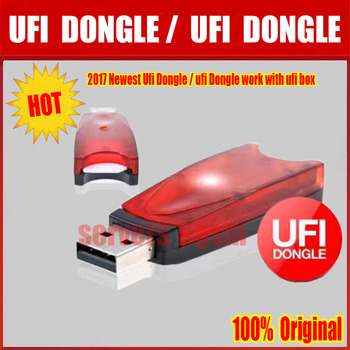 2018 más nuevo 100% original UFI DONGLE/Ufi trabajo Dongle con ufi caja