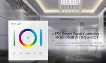 Milight P3 Panel Controller RGB RGBW RGB+CCT LED Touch Switch Panel Controller Led Dimmer for Led Strip, Panel Light DC12v 24v