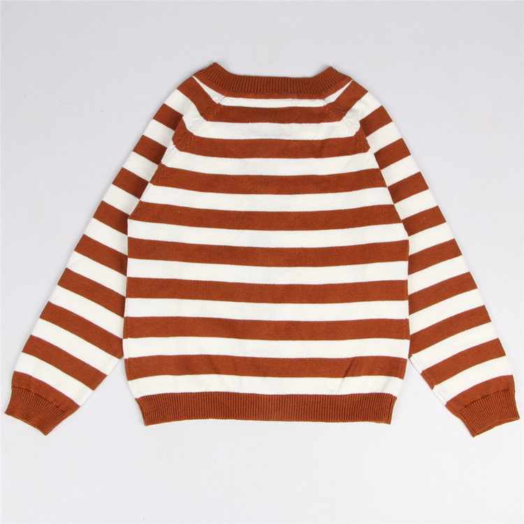 1f1da1a6c Retail Korean Striped Cotton O neck Boys Cardigans Sweater Christmas ...