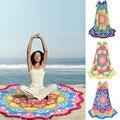 Unisex Verano Enrarecen alrededor de Pareo de boho Hippie Mandala tapiz Tapices Wrap mantón de Tiro manta Toalla Estera de la Playa Cubre Para Arriba La Bufanda