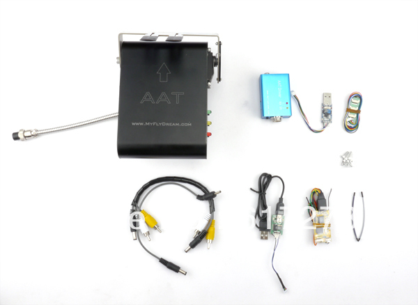 MyFlyDream v3.0 version MFD 12CH Automatic Antenna Tracker (AAT) FPV System