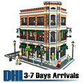 DHL Free Shipping 2017 New Arrival Plastic Toys Fashion Starbucks Coffee Shop Building Model Blocks Mini Brick Puzzles 15017