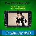 2 Два Дин ПК Автомобиля DVD Для VW Volkswagen PASSAT B6 V6 Гольф JETTA MK5 MK6 POLO С GPS Навигация Радио Mp3 Бесплатная Карта BT Стерео
