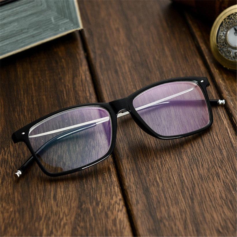 Imwete Business Myopia Glasses Men Classic Myopic Eyeglasses Short Sighted Eyewear Black Spectacles With Degree 1.0 2.0 3.0 4.0