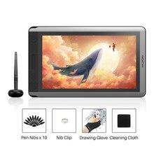 Huion Kamvas 16 Caneta Digital Monitor de Tablet Gráficos de Desenho Caneta Monitor de Tela com Bateria free Pen função de Inclinação para win Mac
