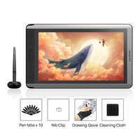 Huion Kamvas 16 Digital Pen Tablet Monitor Grafica Disegno Monitor Pen Display con funzione di Inclinazione Penna senza Batteria per win Mac