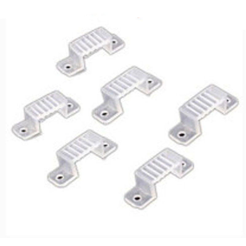 Image 5 - 5000Pcs 10000Pcs 20000Pcs LED Fixing Silicone Mounting Clips 10mm 15mm buckles clamps For 220V 110V Waterproof LED Strip Light Tape-in Connectors from Lights & Lighting
