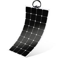 Flexible Solar Panel SunPower Solar Panel 100w 18V 12V Lightweight Flexible Solar Power Panels for RV Boat Truck Car Van Tent