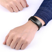 Smart bracelet talk band bluetooth earphone fitness tracker blood pressure heart rate smart wristband watch for men dial call