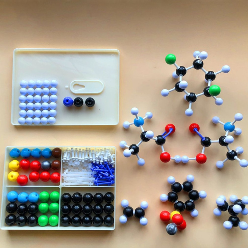 Molecular Model Set Organic and Inorganic Chemistry Molecules Structure Model Kits For School Teaching Research Series xhjy xmm 006 chemistry organic molecule model for teaching multicolored
