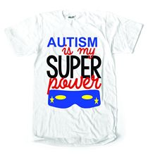 autism is my super power awareness kids ladies mens t shirtNew T Shirts Funny Tops Tee New Unisex Fashion Classic
