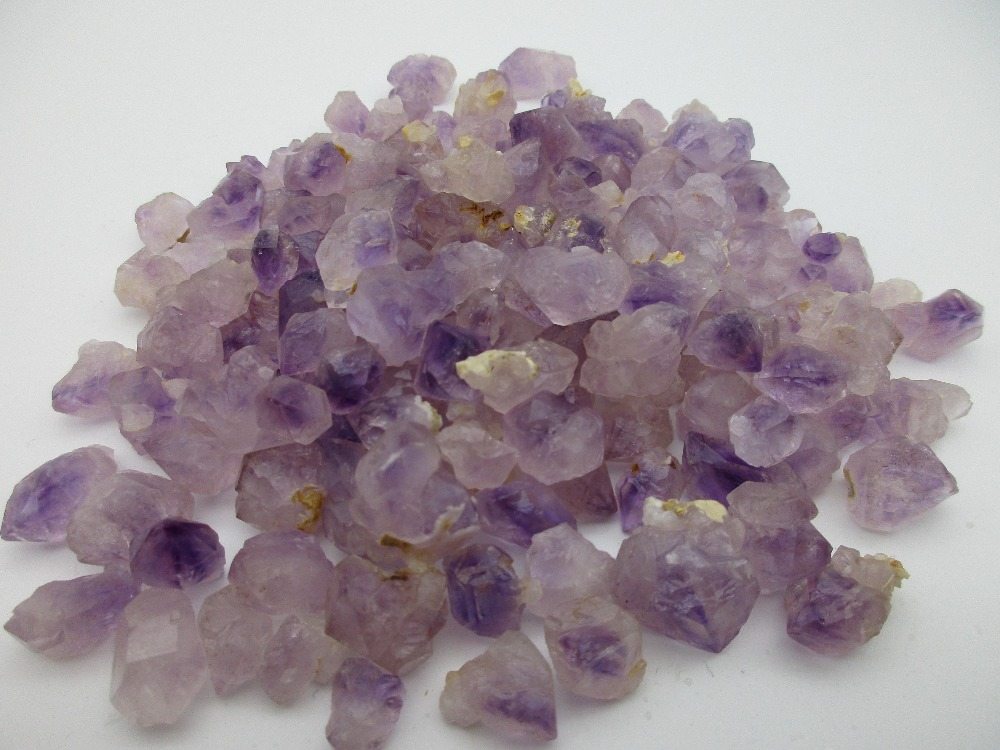 1000g Natural Amethyst Skeletal Quartz Point Crystal Cluster Healing Specimen Stones Minerals Home Desk Aquarium Decor-in Stones from Home & Garden    1