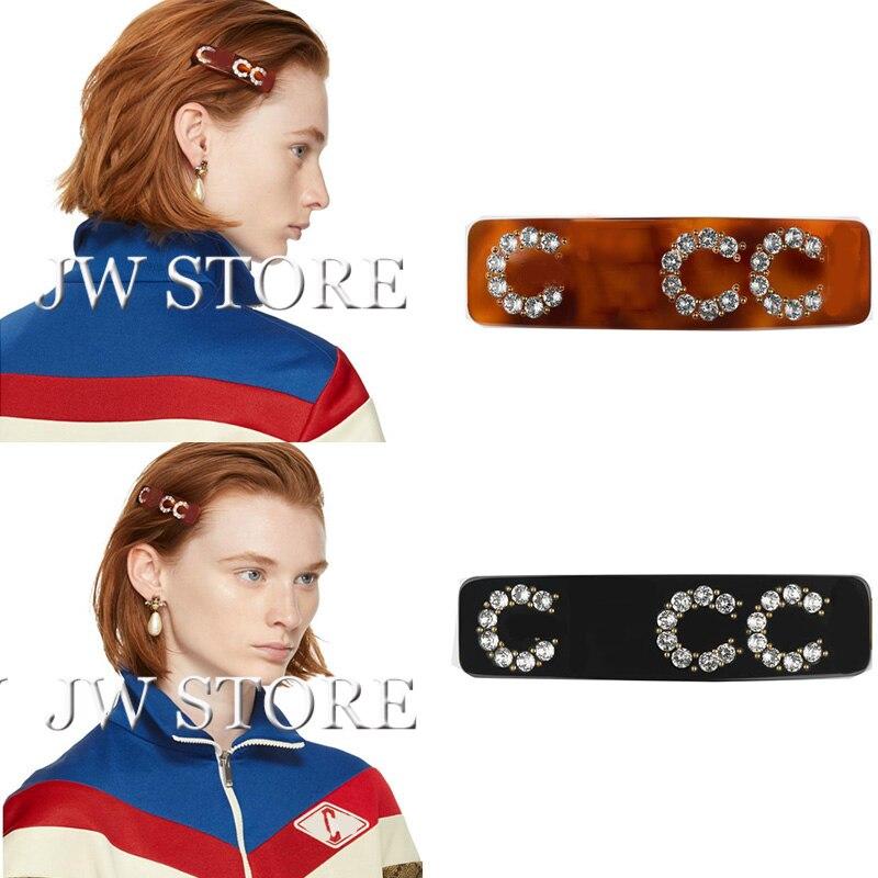 Light Crystal G letter single hair clip fashion hair queen 27 100s 0 5 g s 100% 50 g micro ring loop hair