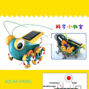 Solar Power Transformation Robot Kit  2